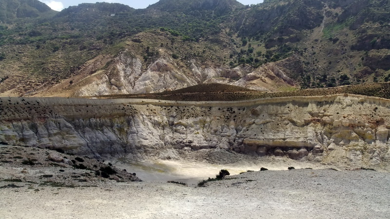 Nisiros volcano