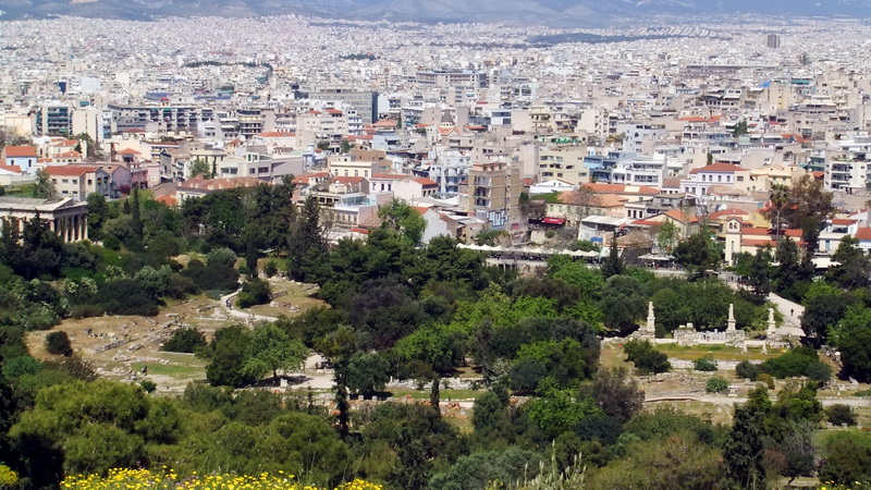 Athens - city view
