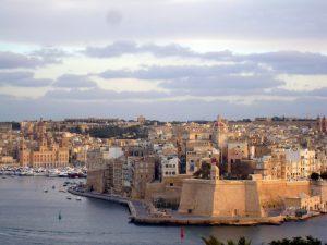 Malta - marina in Valetta