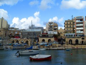 Malta - marina of St. Julian's
