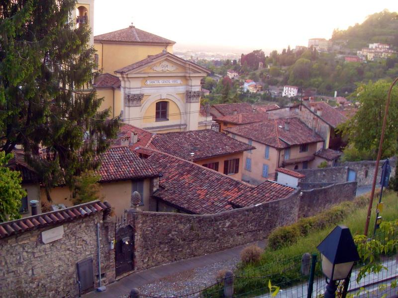 Bergamo - citta alta