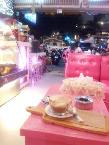 Thailand - Pattaya, cafe