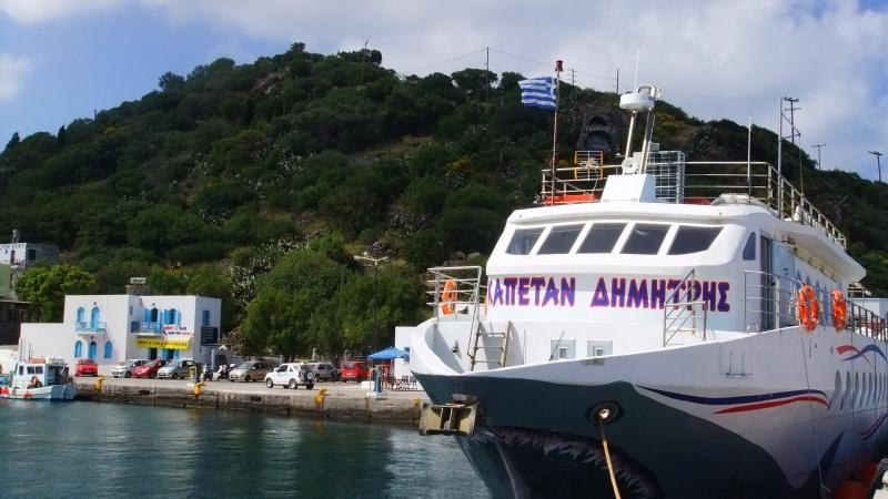 Kos - Boat. Kardamena