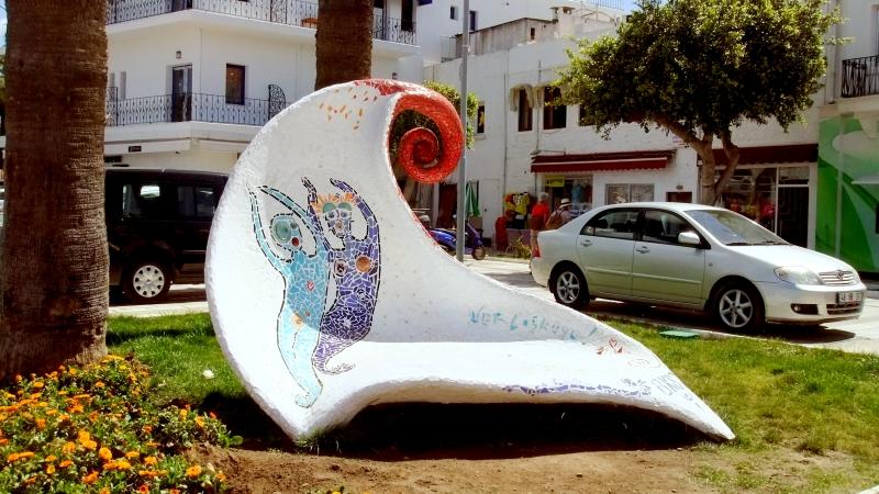 Turkey - Sea sculpture. Bodrum