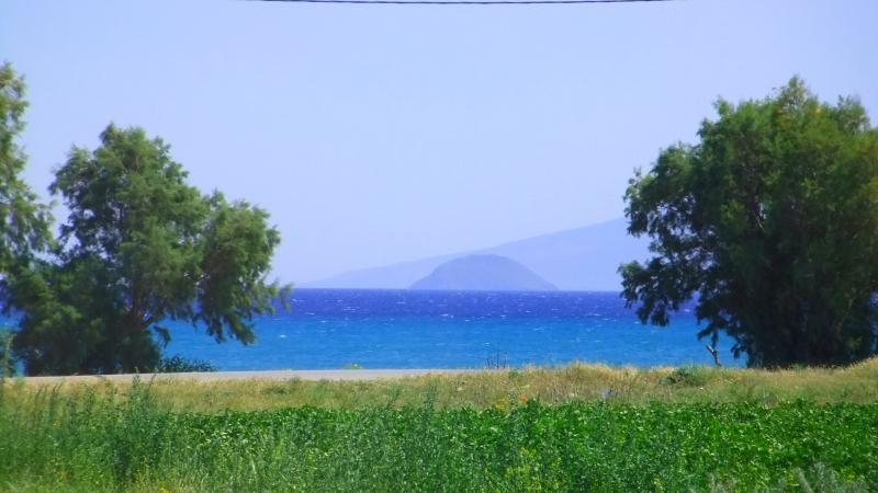 Kos - Blue and green. Kardamena beach