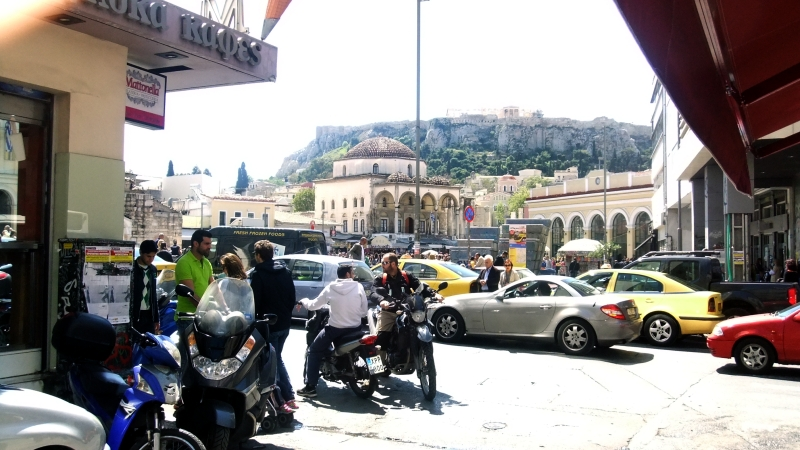 Athens - central square