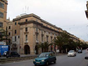 Malta - street of Valetta