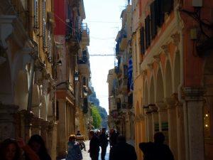 Corfu town street