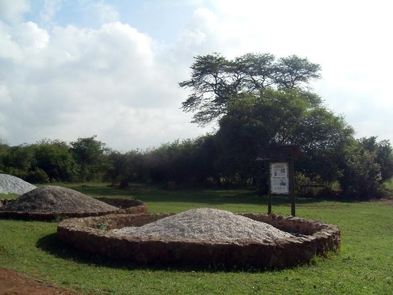 Kenya - National Park, Ivory Burning Site Monument